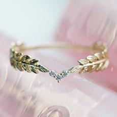 crystal ring, wedding ring, 925 silver rings, Engagement Ring