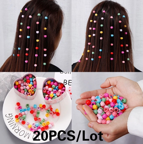 hair, hairornament, ponytailholder, Colorful