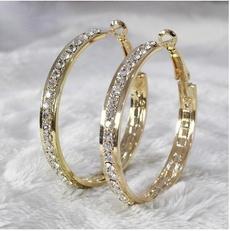 Hoop Earring, Jewelry, Simple, gold hoop earrings