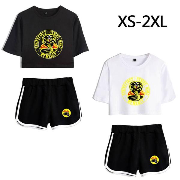 Summer, cobrakaitshirt, Fashion, women track suit