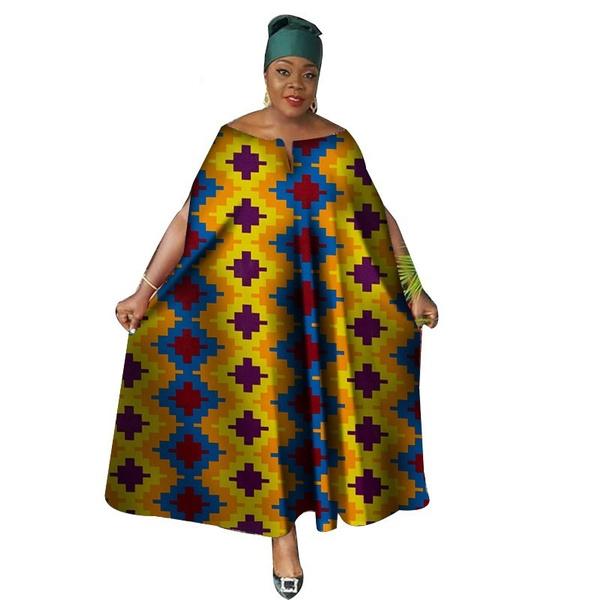 africanprint, Plus Size, gowns, Evening Dress