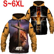 Fashion, pullover hoodie, Sweatshirts, Coat