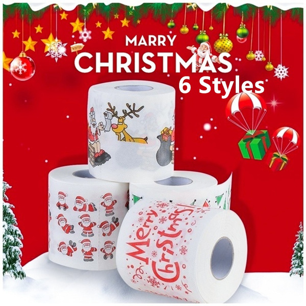creativerollpaper, Bathroom, Christmas, printingtoiletpaper