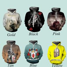 3D hoodies, knightstylecloth, knightstemplar, knightstemplarcosplay