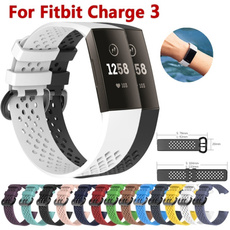 fitbitcharge3accessorie, wristbandwatch, siliconewatchband, Fitness