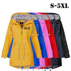 Chaqueta, waterproofcoat, Plus Size, casualoutdoor