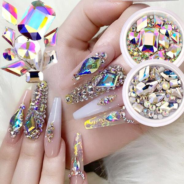 nail decoration, Beauty Makeup, nail decals, DIAMOND