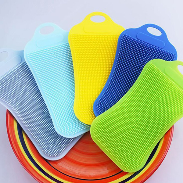 cleaningscrubber, dishwashing, vegetablefruit, Silicone