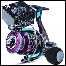 Steel, spinningreel, spinningfishingreel, Colorful