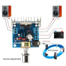 tda7297, Stereo, digitalaudiopoweramplifier, speakerdiy