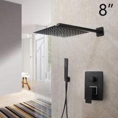 Shower, Faucets, matte, waterfalltubtap