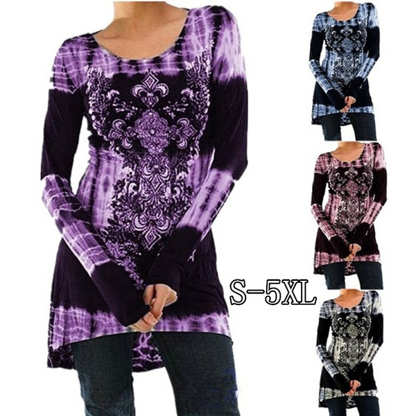 Plus Size, Long Sleeve, Dress, slim
