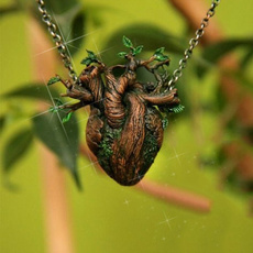 Antique, Heart, Jewelry, heart necklace