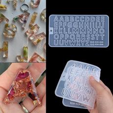 lettersmold, castingmold, Key Chain, Jewelry