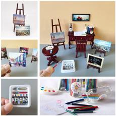 Mini, Decor, dollhousebook, miniature