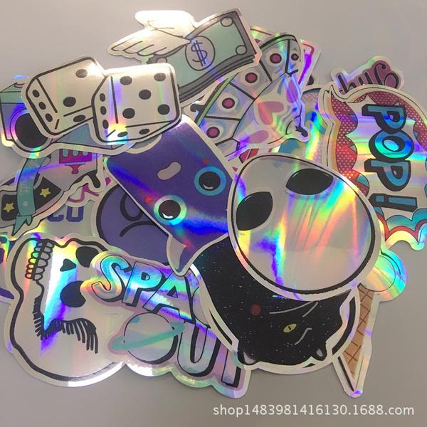 case, Car Sticker, suitcasesticker, alien