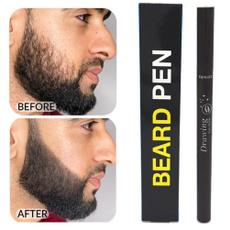 mustachebeard, pencil, beardpattern, Waterproof