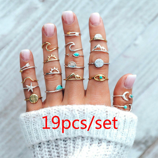 Couple Rings, crystal ring, eye, Jewelry