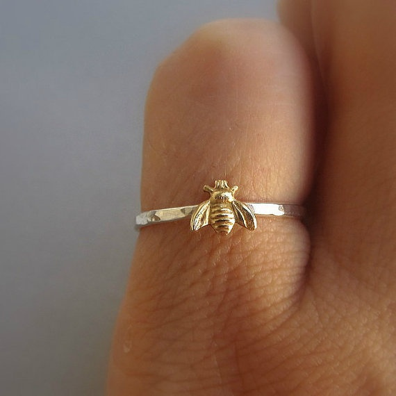 Sterling, twotonering, animalring, Jewelry