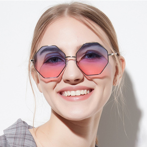 retro sunglasses, Designers, Colorful, metal sunglasses