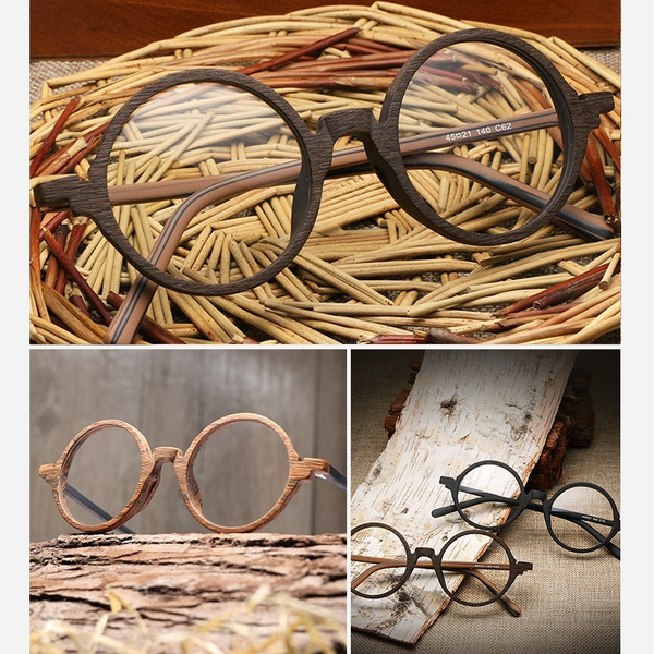 retro glasses, Wooden, eyewear frames, glasses frame
