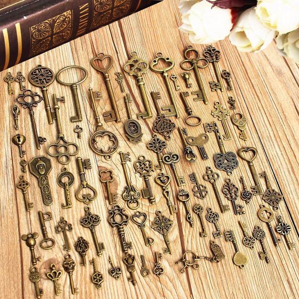 Antique, vintagekey, Skeleton, passkey