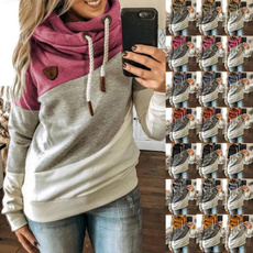Plus Size, pullover hoodie, Long Sleeve, Women Hoodie