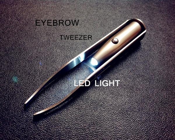 Steel, eyebrowtrimmer, eyebrowshaping, led