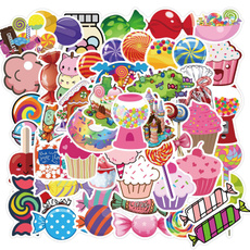 Car Sticker, suitcasesticker, Colorful, Luggage