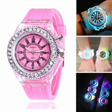 LED Watch, Fashion, silicone watch, Colorful