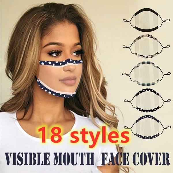 transparentmask, maskfordeaf, Cover, liplanguagemask