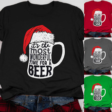 Shorts, Christmas, Sleeve, graphic tee