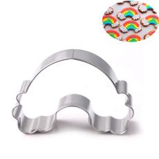 Steel, biscuitcuttermold, Baking, rainbow