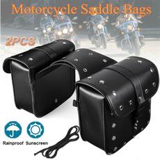 Box, Luggage, saddlebag, leather