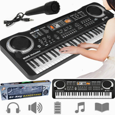 electronicorganwithmicrophone, Keys, Microphone, Electric