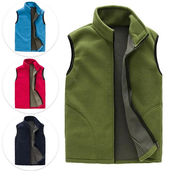 menswaistcoat, Vest, fleevevest, sleevelessjacket