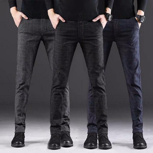trousers, Winter, pants, gridstripe
