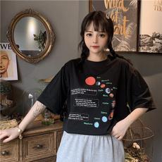 K-Pop, Fashion, slim, short sleeves