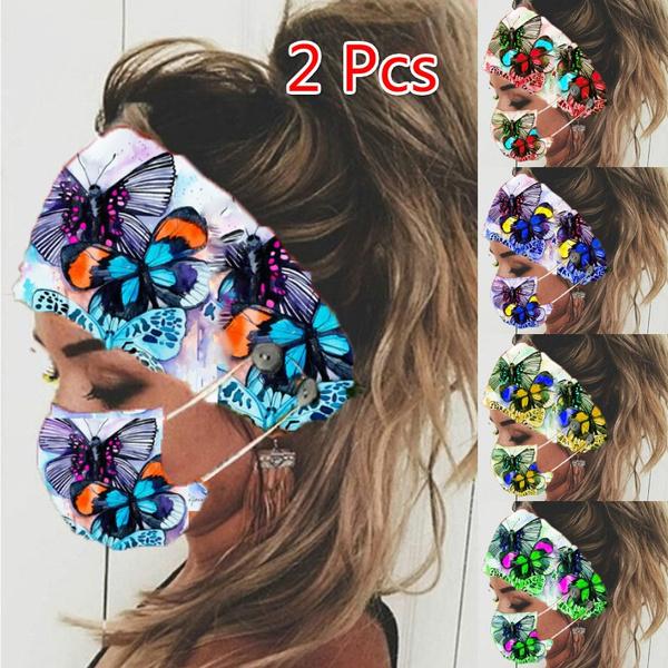 butterfly, reusemask, Outdoor, Elastic