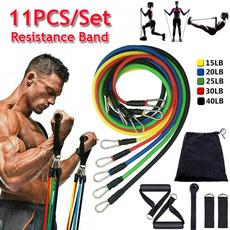 Fitness, Yoga, latexresistanceband, fitnessaccessorie