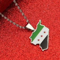 Мода, Ювелірні вироби, mapjewelry, syrianspendant