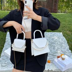 women bags, Mini, Cross Body, pearls