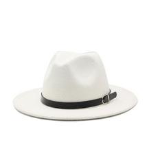 flatboaterhat, woolen, Fashion Accessory, Fedora Hats