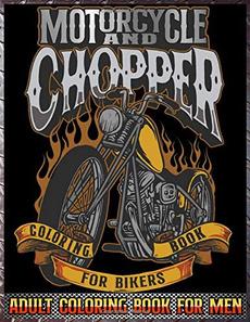 Men, chopperscoloringbook, coloringbookforgrownup, relievestres