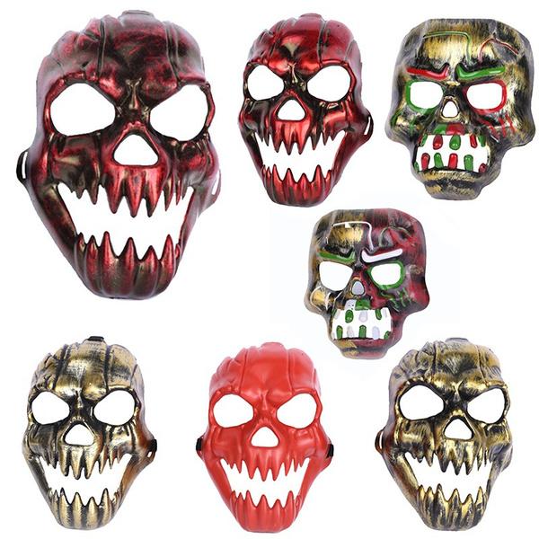 ghost, scary, fullheadlatexmask, halloweenparty