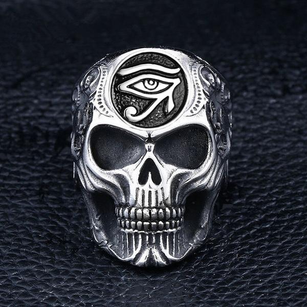 Steel, hip hop jewelry, eye, Jewelry