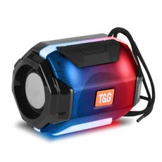 Mini, stereospeaker, lights, Bass