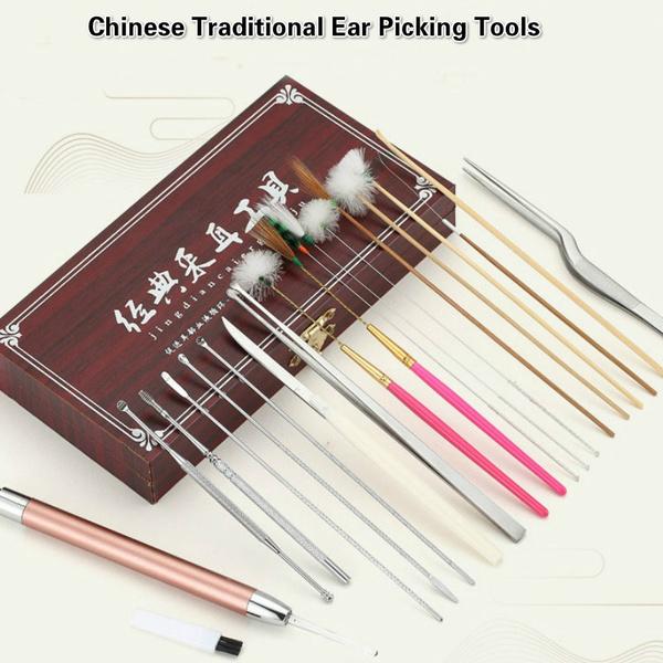 Steel, theearisfullofpain, earcleaner, Chinese