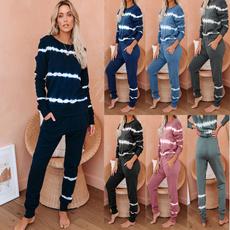 women's pajamas, Two-Piece Suits, Sleeve, sexy pajamas