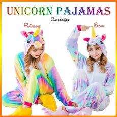 women's pajamas, Cosplay, unicornpajama, Sleeve